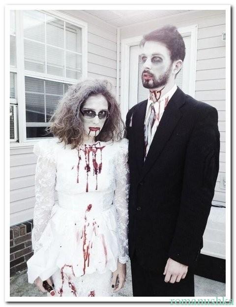 Костюмы Зомби-жениха и Зомби-невесты
