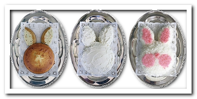 пасхальный торт кролик