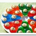 яйца из желе на Пасхальный стол