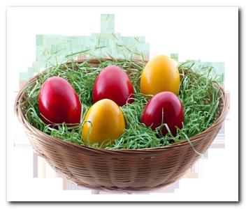 символ Пасхи - яйцо