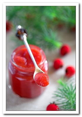 джем из плодов боярышника