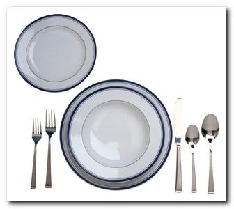 как накрывать на стол к обеду