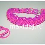 браслет из резинок шнурки