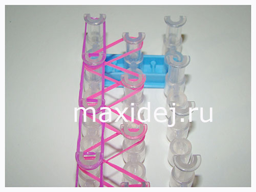 плетение из резинок браслет шнурки фото