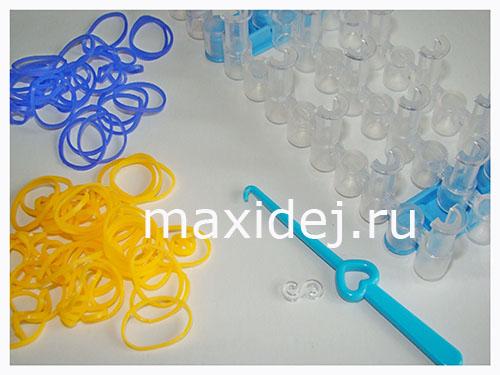 материлалы для плетения браслетов из резинок