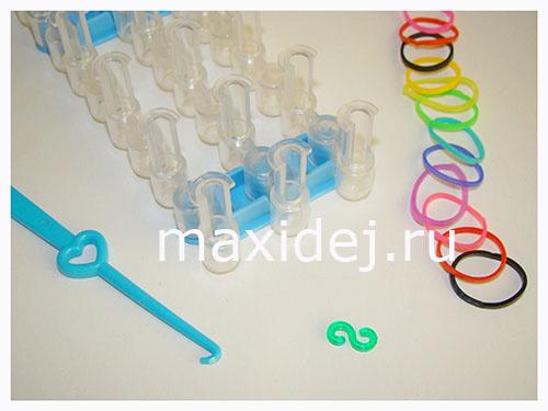 материалы для плетения из резинок