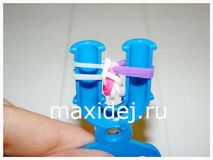 браслет из резинок твинок