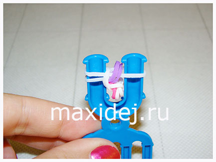 схемы плетения из резинок