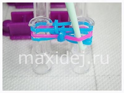 браслеты из резинок на станке