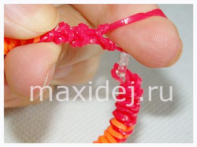 браслеты из резинок на рогатке