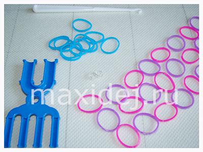 материалы для плетения браслета велосипедная цепь на рогатке без станка