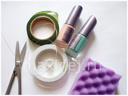 материалы для изготовления заколки своими руками
