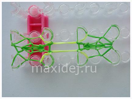 плетение на станке схемы