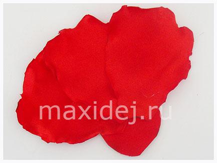 как сделать цветок мак из ткани
