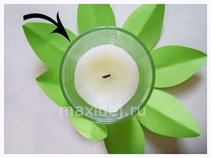 подсвечник для небольшой свечи
