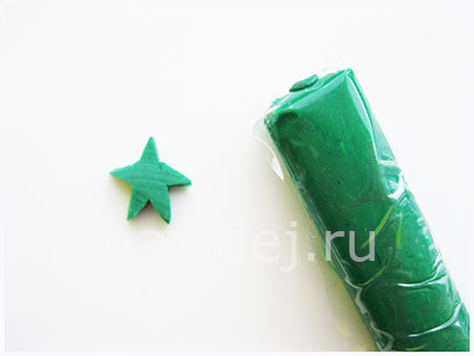 елочка из фантиков от конфет мастер класс