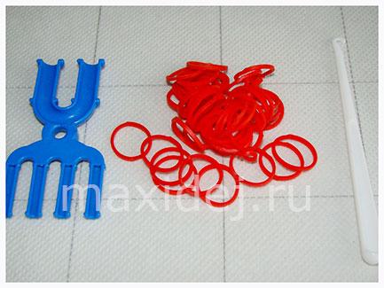 материалы для плетения сердечка
