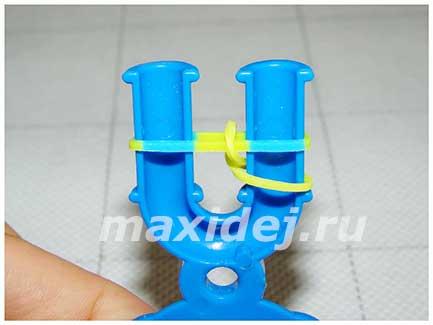 как сделать браслет из резинок эликсир