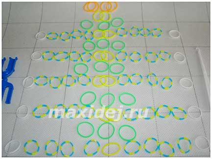 материалы и схема плетения эликсир