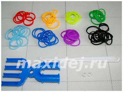 материалы для плетения браслета спиральки