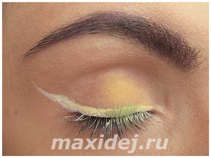 макияж глаз в домашних условиях