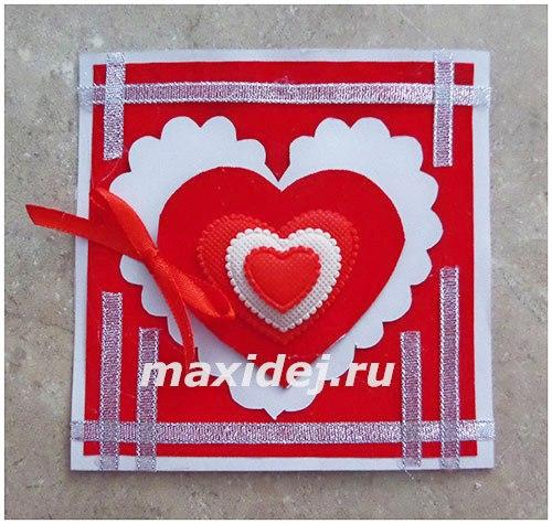 открытки валентинки своими руками
