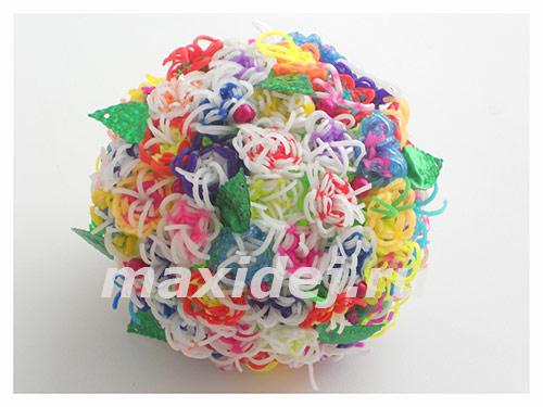 шар из резинок декоративный