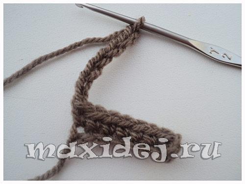вязание петушка крючком
