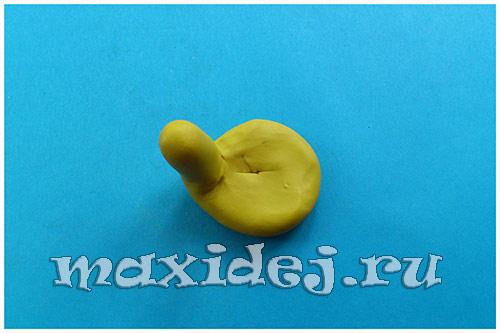улитка из пластилина пошагово