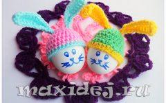 шапочки для пасхальных яиц