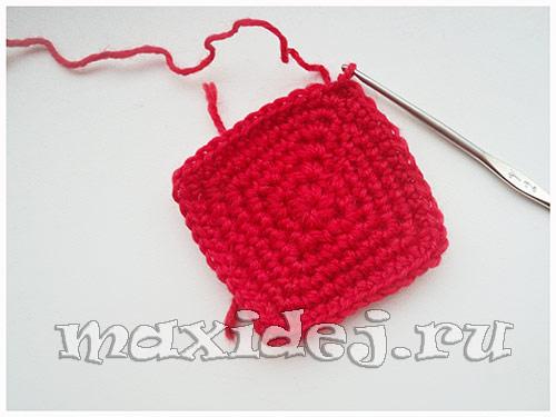 валентинки вязанные крючком