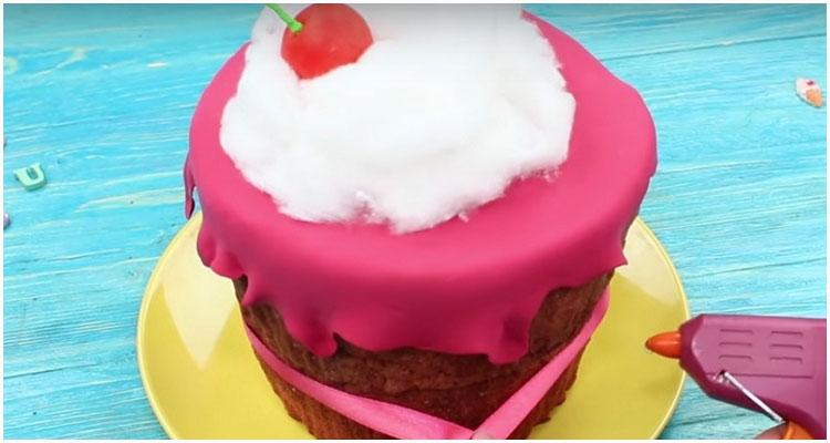 сквиши антистресс кекс торт
