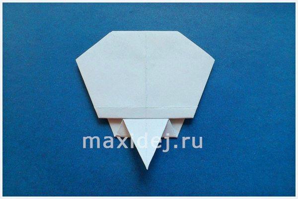 череп из бумаги своими руками