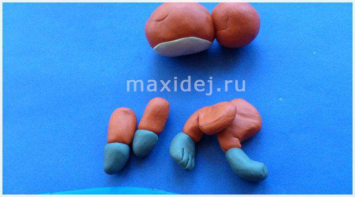поделки из пластилина